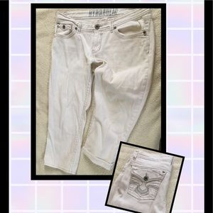HYDRAULIC brand cropped jeans